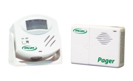Wireless Motion Sensor Pager - Alarm System (EA020)