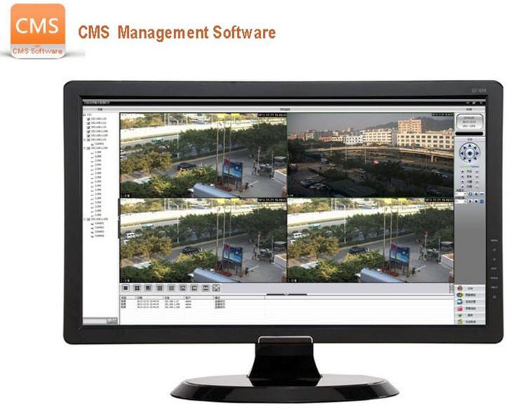 HD 720P 4ch AHD Kit 4channel Touch Panel AHD DVR Kit AHD CCTV Camera System - 6