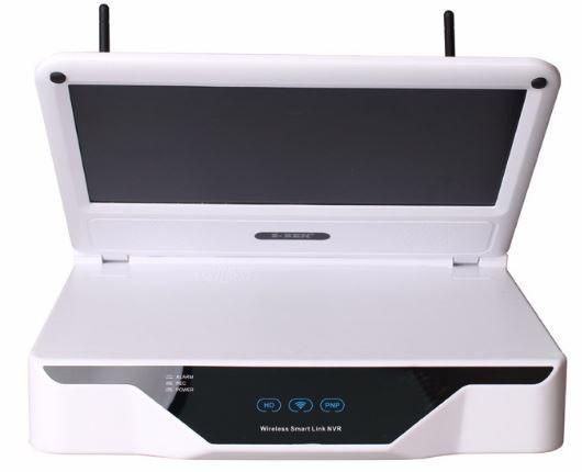 Wireless LCD 10.1 inch LCD screen NVR HD resolution - 3