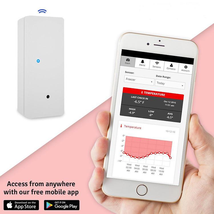 Wireless Temperature Sensor 2 Singapore Emergency