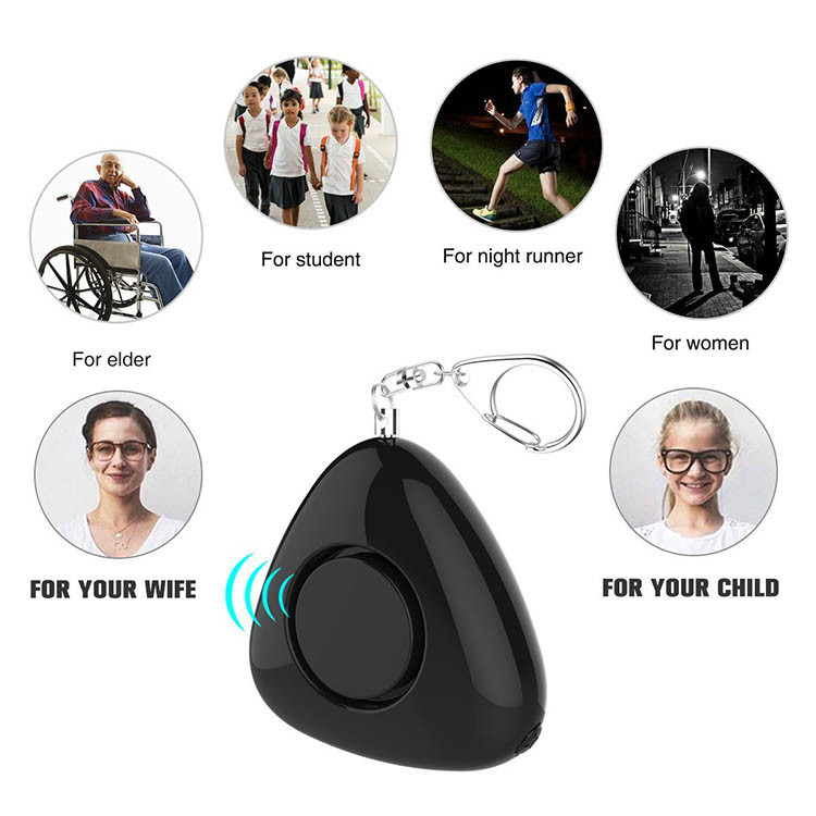 Personal Keychain Alarm for Women Kids Students Elderly and Night workers - 7