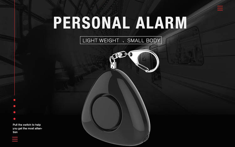 Personal Keychain Alarm for Women Kids Students Elderly and Night workers - 8