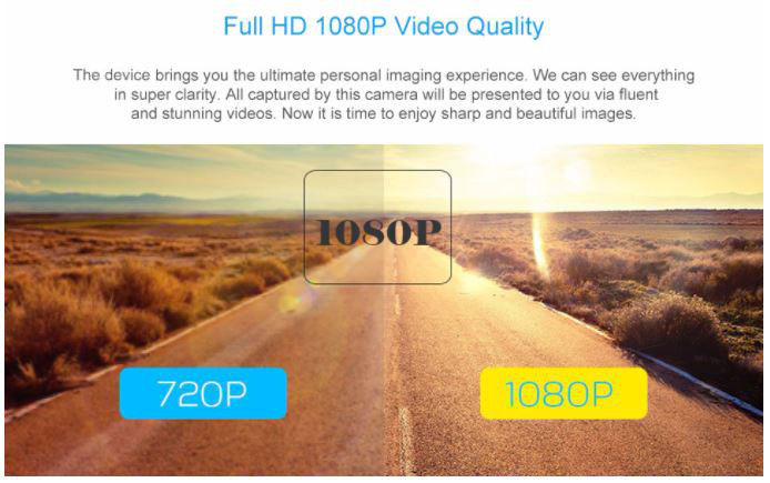 Mini Car DVR Car Black Box Full HD 1080p Night Vision Camera - 5