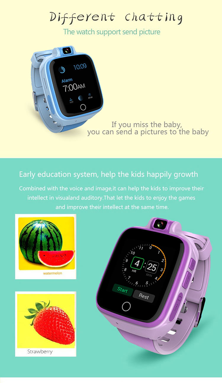 Kids GPS Tracker Watch, 4G, SOS Emergency Call with Video Call (GPS022W) - 10