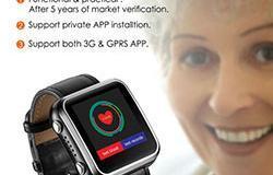 Elderly Health Monitoring GPS Tracker Watch - 1 250px