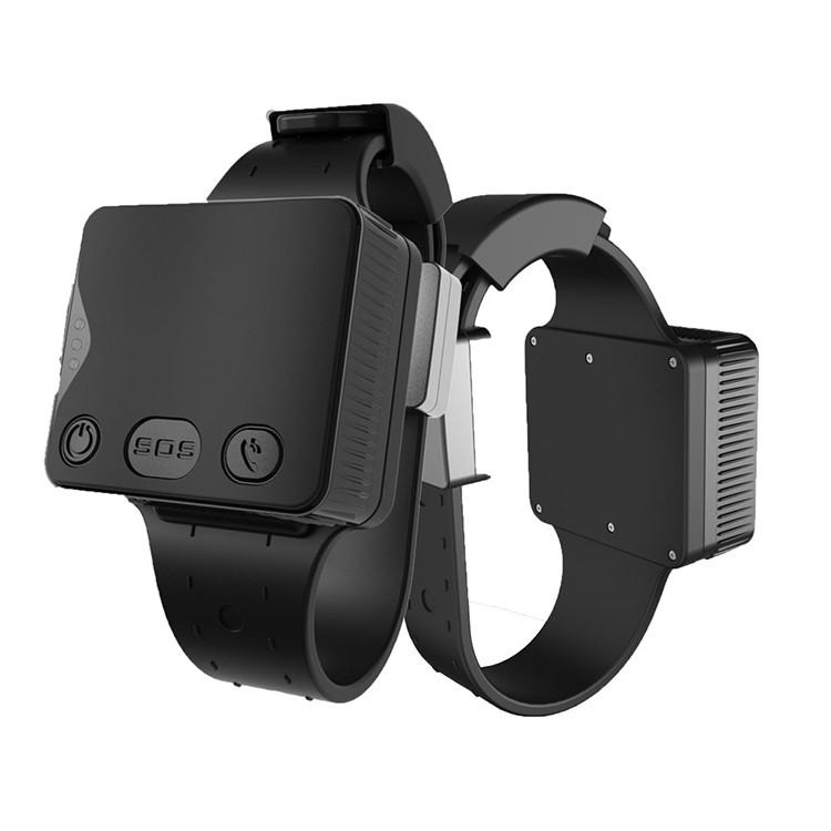 Personal Ankle GPS Tracker with bracelet belt on off alarm for Parolee / Prisoner / Offender (GPS028D)
