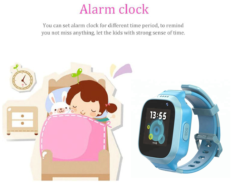 Waterproof GPS Watch For Kids - Alarm