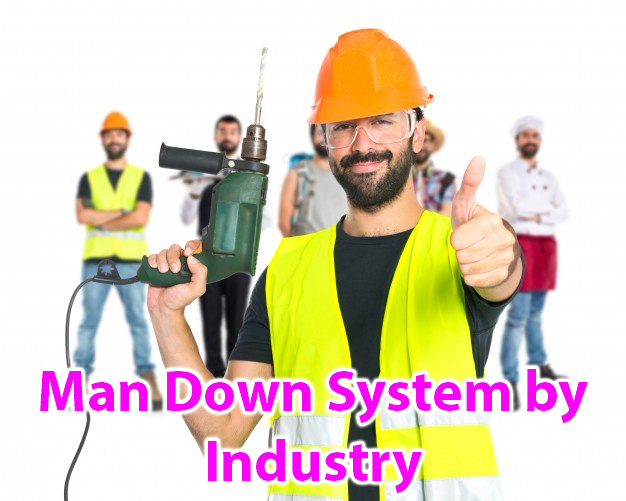 Man Down sistem po industrijama (A10005B)