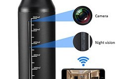 720P Portable Hidden Wireless Cup Camera - 1 250px
