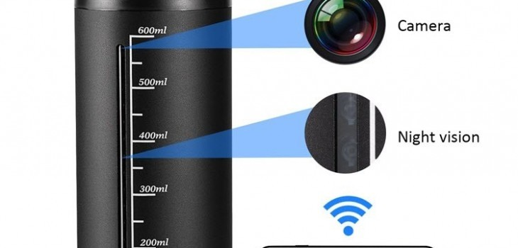 720P Portable Hidden Wireless Cup Camera - 1