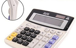 Full sized Solar powered Calculator Spy Camera - 1 250px