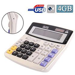 Täysikokoinen aurinkokäyttöinen laskin Spy Camera (SPY033) - S $ 148