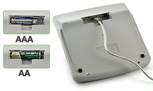 Full sized Solar powered Calculator Spy Camera - 5
