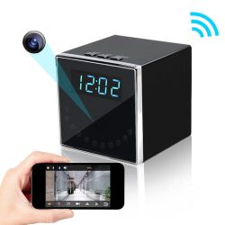 HD 1080P Clock Hidden Camera (Cube WiFi) - 1