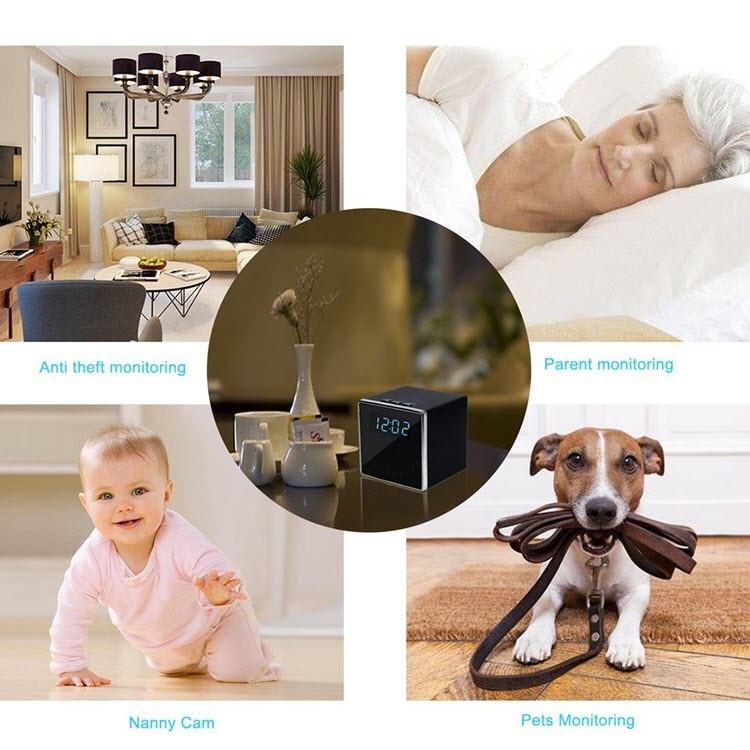 HD 1080P Камераи пинҳонӣ (WiFi Cube) - 6