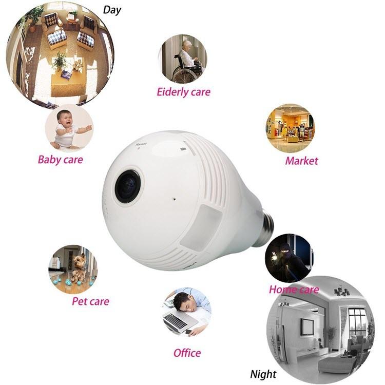 لامپ پنهان دوربین - 2