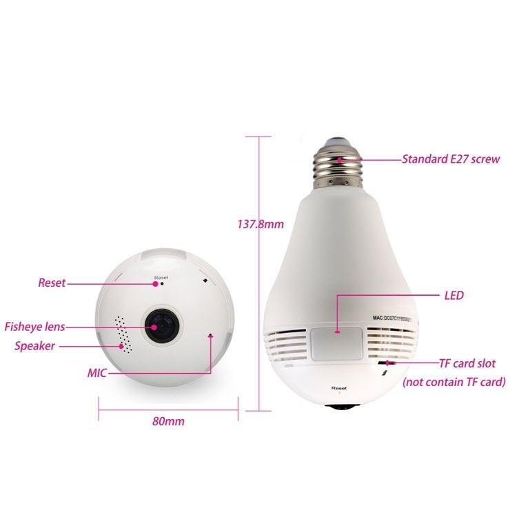 لامپ پنهان دوربین - 3