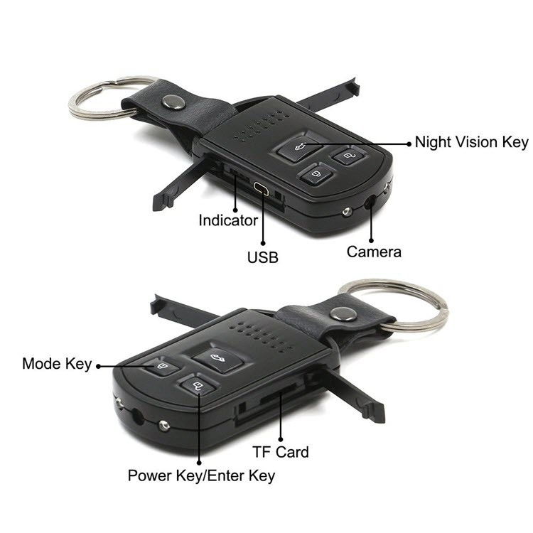 Mini Hidden Camera Car Key Camera - 4
