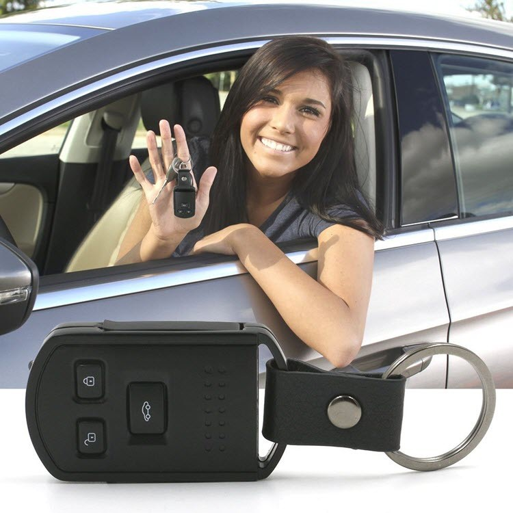 Mini Hidden Camera Car Key Camera - 7