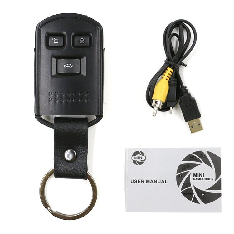 Mini Hidden Camera Car Key Camera - 8