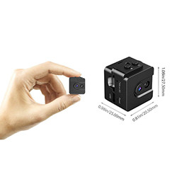 Mini Spy Cam piilotettu kamera 720P Portable Small Nanny Cam (SPY014)