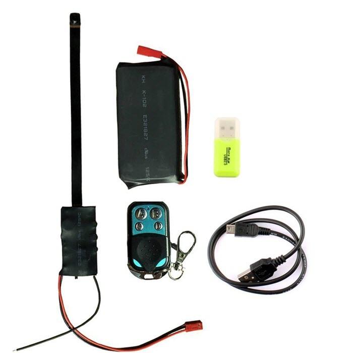Mini Spy Camera 1080P Piilotettu videolähtöinen turvatekniikka - 6