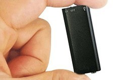 Mini Spy USB Audio Voice Recorder & MP3 Player Flash Drive - 1 250px