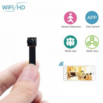 កាត Mini Wireless Wireless WIFI Spy Camera ដែលលាក់ - 1