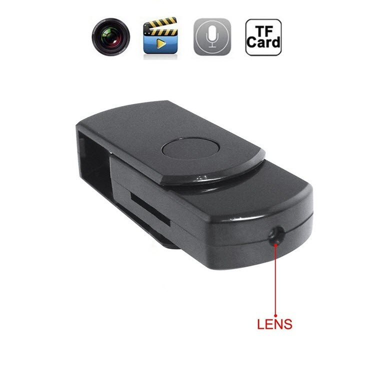 Kawe Mini SPY USB DISK Kamera Huna - 1280 × 960, Tuhipoka 60mins, SDCard 16GB, Mahinga Hukahuka