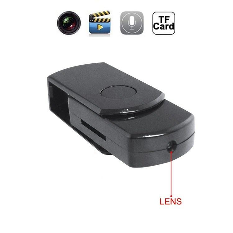 Portable Mini SPY USB DISK Nakatagong Camera - 1280 × 960, Record 60mins, SDCard 16GB, Paggalaw Pagtuklas (SPY11)