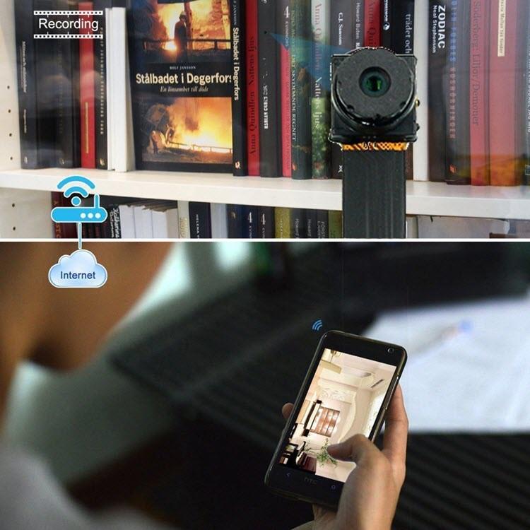 Smallest P2P Wifi Spy Camera DIY Mini Wifi Module Hidden Camera - 5