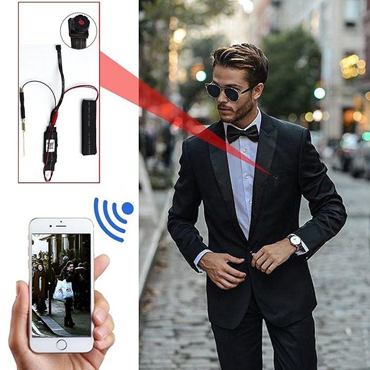 Smallest P2P Wifi Spy Camera DIY Mini Wifi Module Hidden Camera - 7