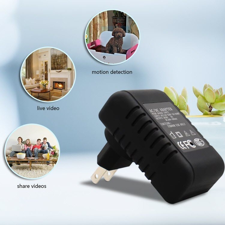 Wireless Hidden Adapter Home Security Cam - 4