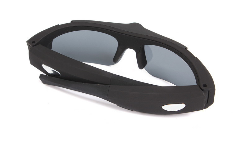 Fashion Sports Video Camera Sunglasses Spy with 120 degree wide angle lens - 2
