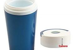 Kannettava 1280x960 HD Spy Water Cup piilotettu kamera - 1 250px