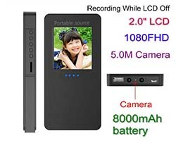 Power Bank Camera (SPY047)