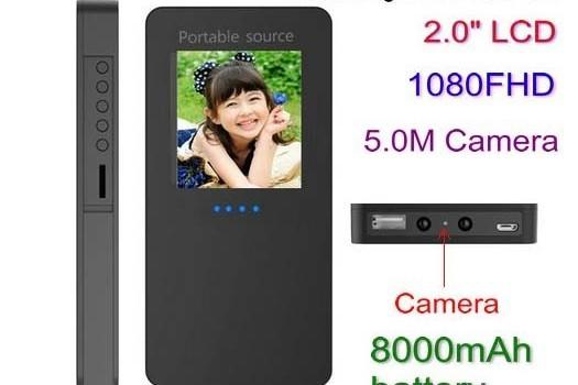 Power Bank Camera - 1