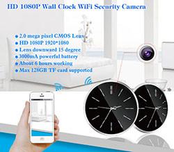 Omega Wifi IP-live-lähetys piilotettu kamera (SPY059) - S $ 288