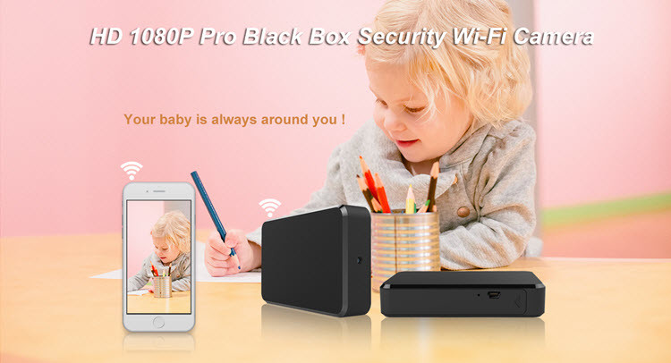SPY060 - WIFI HD 1080P Pro Black Box Security Camera - 3