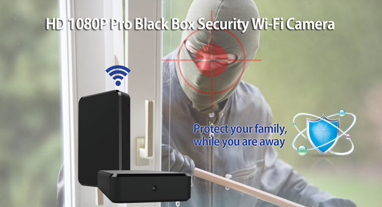 SPY060 - WIFI HD 1080P Pro Black Box Security Camera - 4