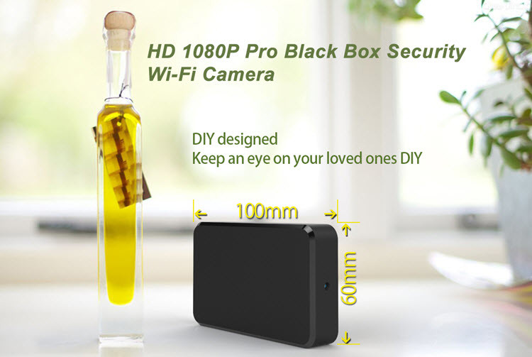 SPY060 - WIFI HD 1080P Pro Black Box Security Camera - 5