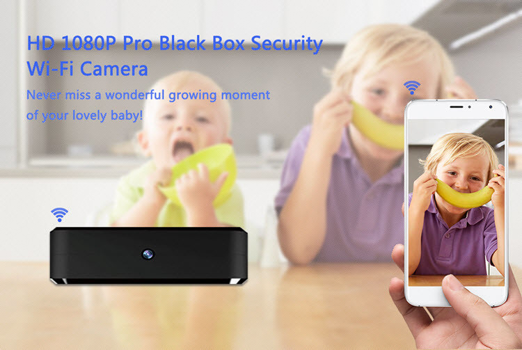SPY060 - WIFI HD 1080P Pro Black Box Security Camera - 7