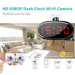 WIFI HD 1080 -pöytäkellakamera (SPY061) - S $ 278