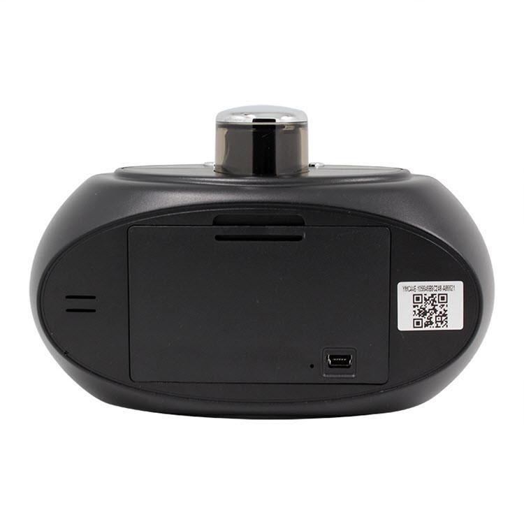 SPY061 - Wifi Alarm Clock Hidden Camera 330 degree Rotatable Lens for Home - 5