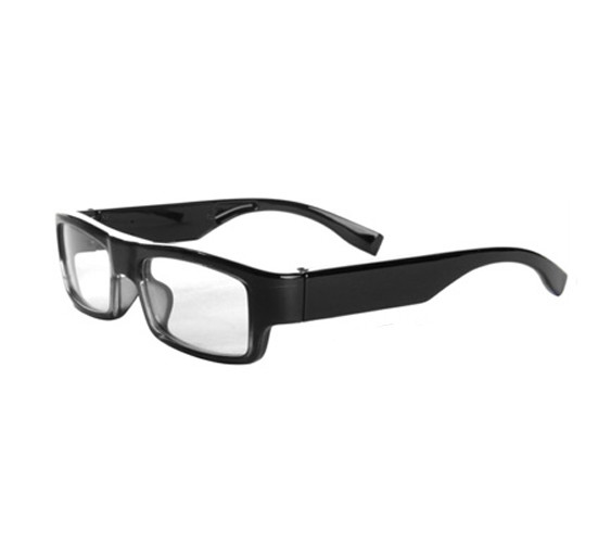 Wearable No Camera Hole Spy Video Eye Glasses - 12MP, 1080P HD - 2