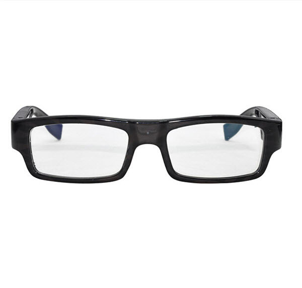 Wearable No Camera Hole Spy Video Eye Glasses - 12MP, 1080P HD - 3