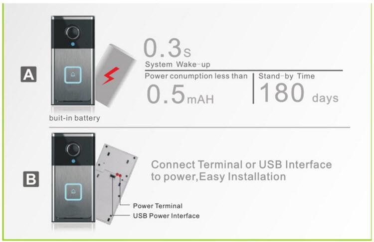 Wifi smart doorbell - 8