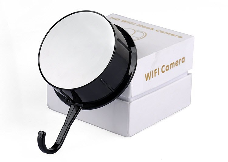 Security HD 720 WiFi Coat, Clothes Hook Hidden Camera - 3