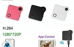 WIFI Mini Wearable Kamera, HD 1280x720P, H.264, Liiketunnistus - 1 250px