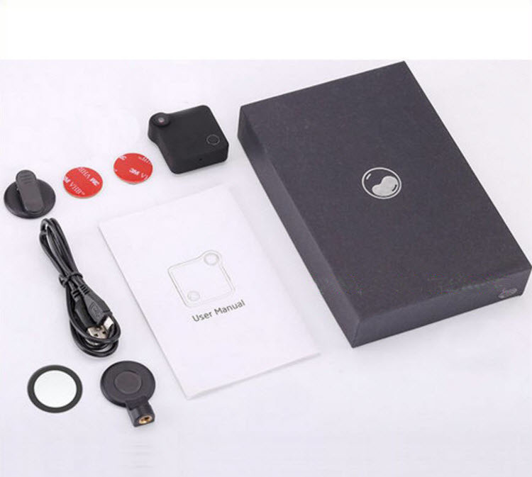 WIFI Mini Wearable Camera, HD 1280x720P, H.264, Motion Detection - 11